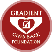 Gradient Gives Back Logo